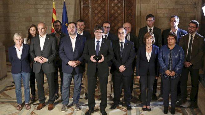El Govern de Carles Puigdemont.