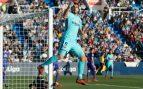Luis Suárez y Ter Stegen firman otra victoria engañosa del Barça (0-3)