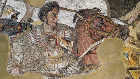 Para los griegos, Alejandro Magno es su héroe nacional y libertador.