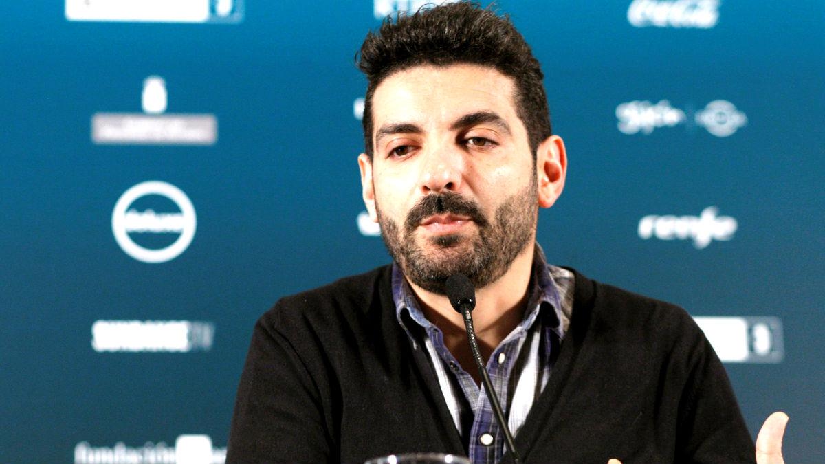 Karim Moussaoui en el Festival de Cine de Gijón (Foto: Efe).