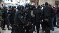 Policía marroquí en una reciente imagen (Foto: AFP).
