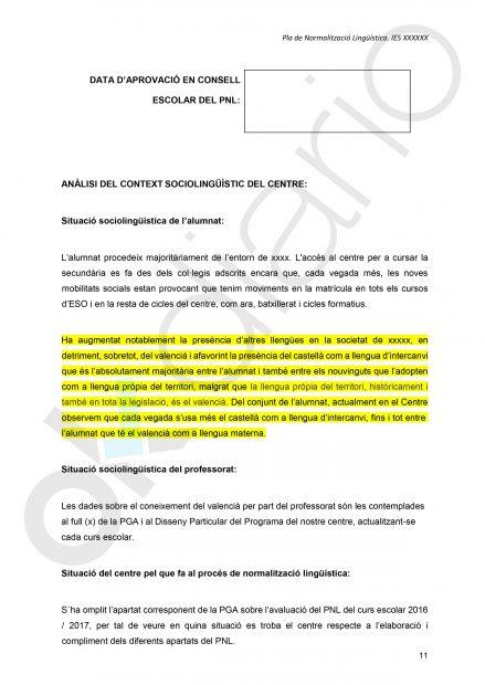Plan de Normalización Lingüística de la Comunidad Valenciana