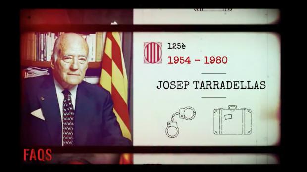 TV3 equipara la fuga de Puigdemont con el exilio de Tarradellas por la dictadura franquista