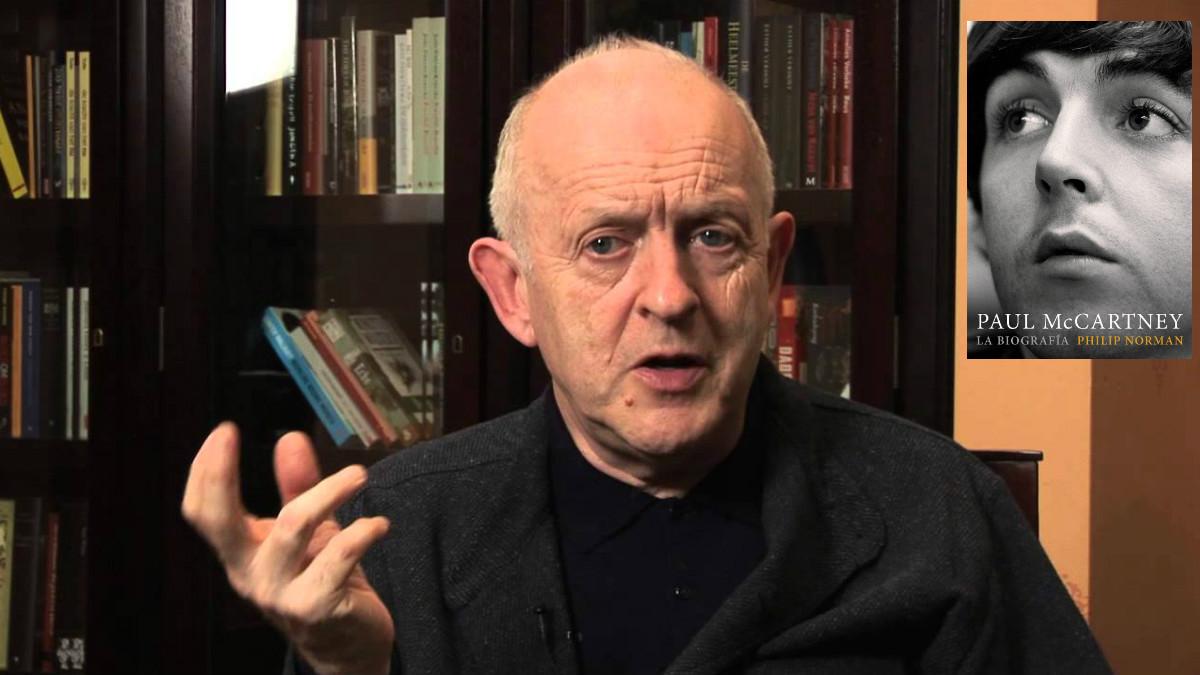 Philip Norman, autor de 'La biografía' autorizada de Paul McCartney.