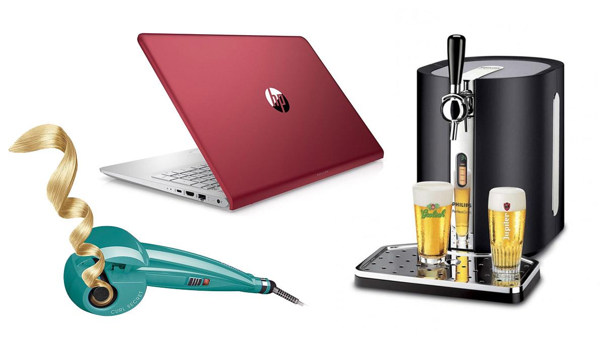 Un grifo de cerveza, una cinta de andar, un ratón gaming, un rizador de pelo… Estos son algunos de los chollos de hoy en la semana del Black Friday 2017