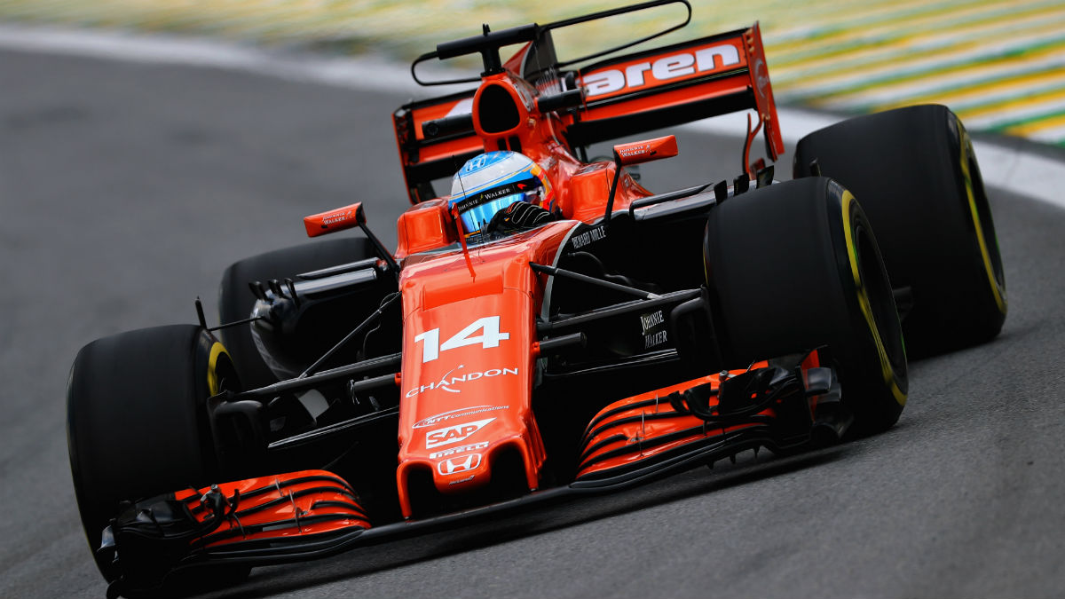 La asociación entre McLaren y Honda llega este fin de semana a su fin tras la disputa del GP de Abu Dhabi. (Getty)
