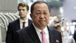 El ministro de Exteriores norcoreano, Ri-Yong-Ho.