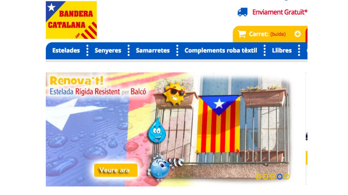 Bandera Catalana.cat