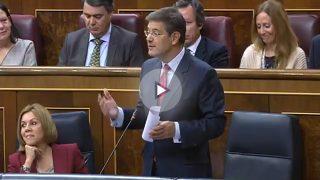 """Catalá recuerda a Montero las conversaciones en Podemos reveladas por OKDIARIO que """"escandalizan"""""""