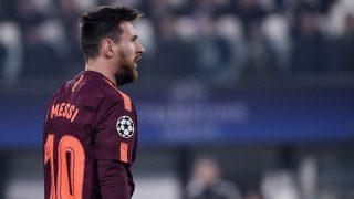 Messi jugó la segunda mitad ante la Juventus. (AFP)