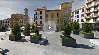 Casco histórico de Alcalá la Real (Jaén), donde vivía la pareja con los tres hijos secuestrados por el padre.
