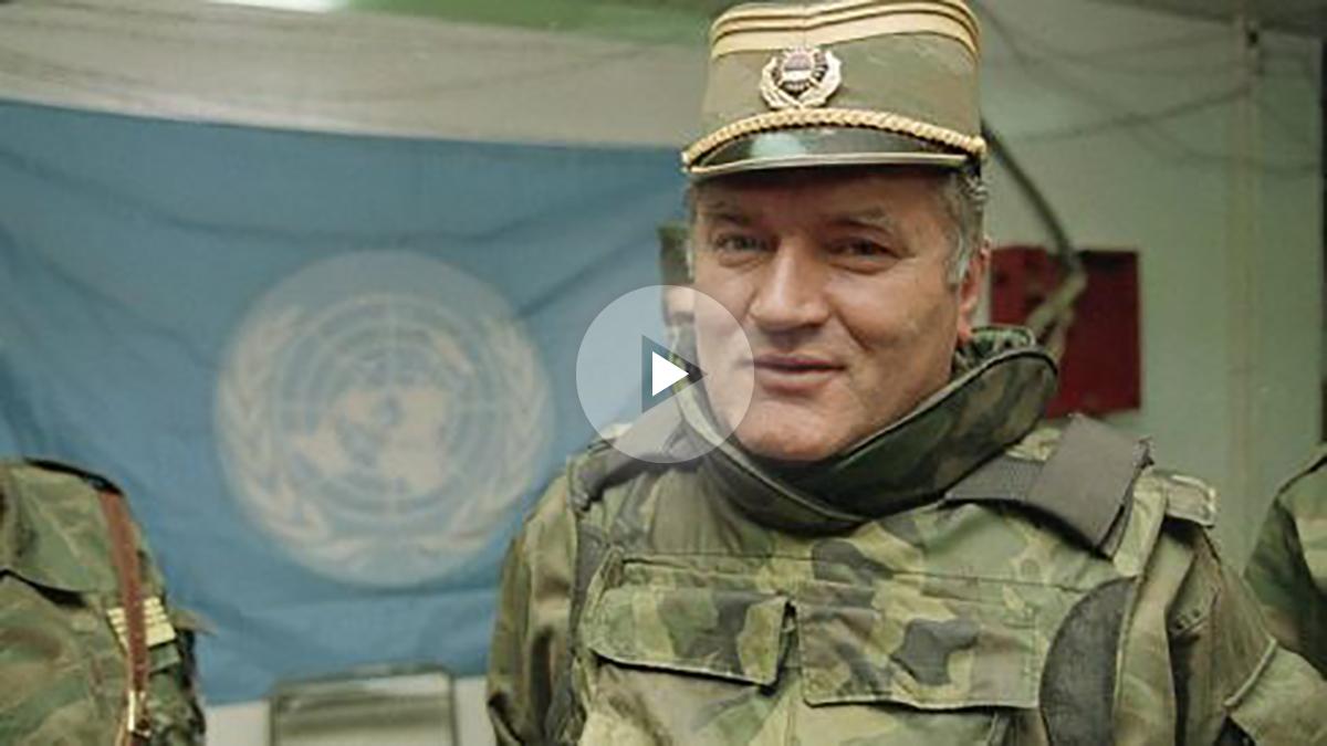 Ratko Mladic, conocido popularmente como 'el carnicero de Bosnia'.