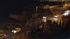 Paso fronterizo del Tarajal en Ceuta