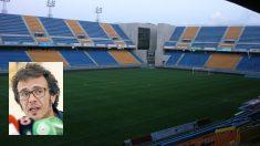 Estadio del Cádiz, Ramón de Carranza y el alcalde de la ciudad, 'Kichi'.