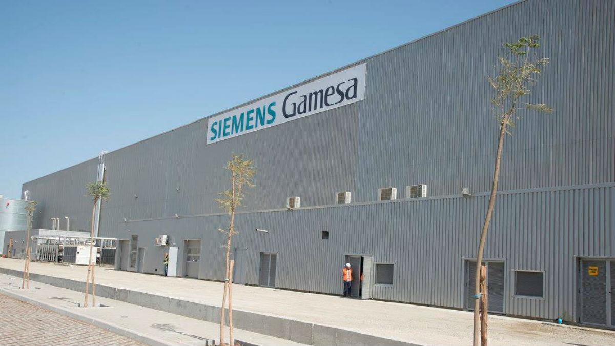 Planta de Siemens Gamesa.