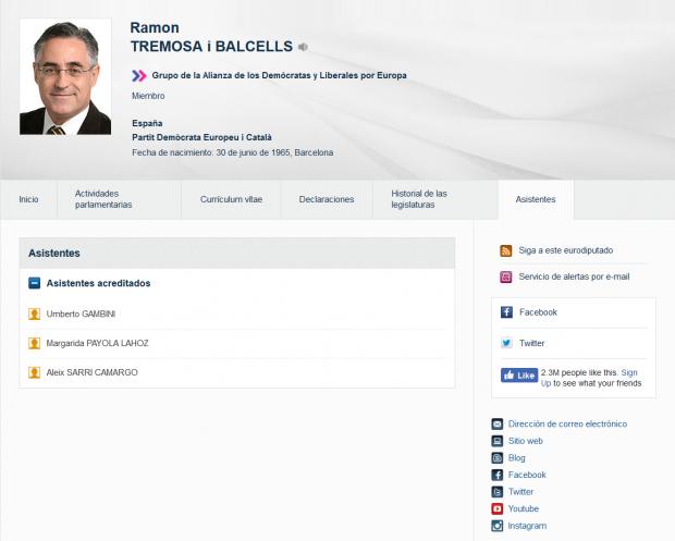 Un asesor del PDeCAT en Bruselas cobra 7.000€ al mes de fondos europeos mientras lleva la comunicación a Puigdemont
