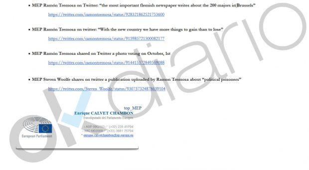 El dossier para expulsar al PDeCAT de los liberales europeos: «Sus cargos instaron a la violencia»