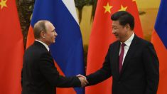 Los presidentes de Rusia y China, Vladimir Putin y Xi Jinping (Foto: GETTY).