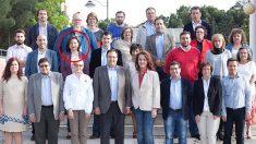 La candidata del PSOE Leganés a las últimas elecciones municipales, Benita Alfonso Perianes (marcada con un círculo en rojo)