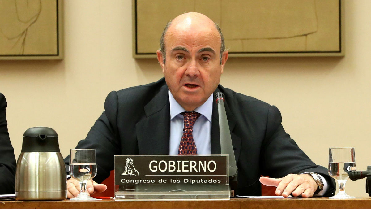 El ministro de Economía, Luis de Guindos (Foto: EFE).