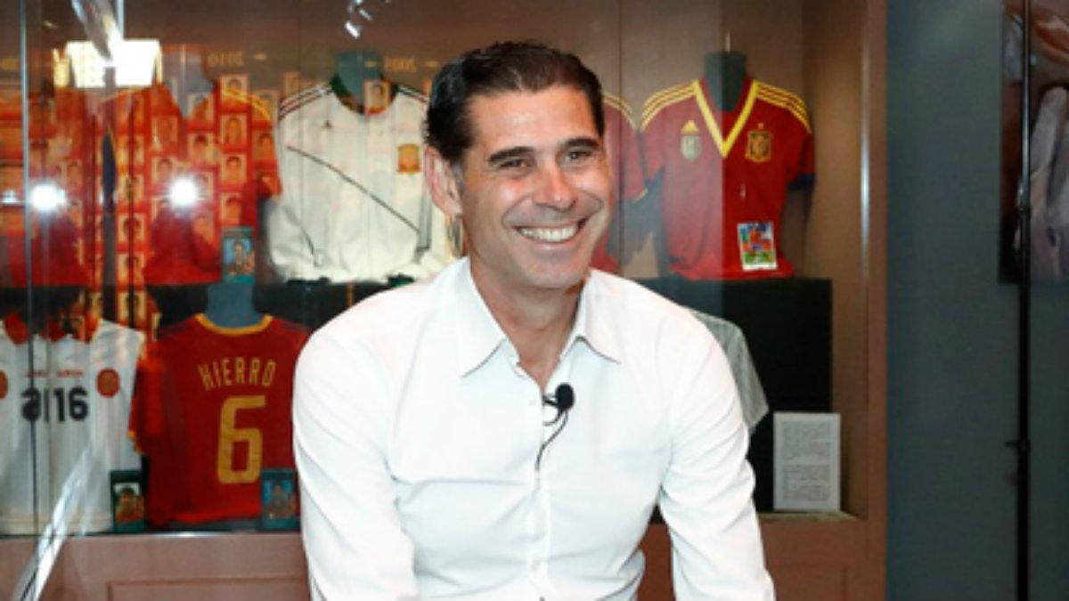 Fernando Hierro, director deportivo de la RFEF. (rfef.es)