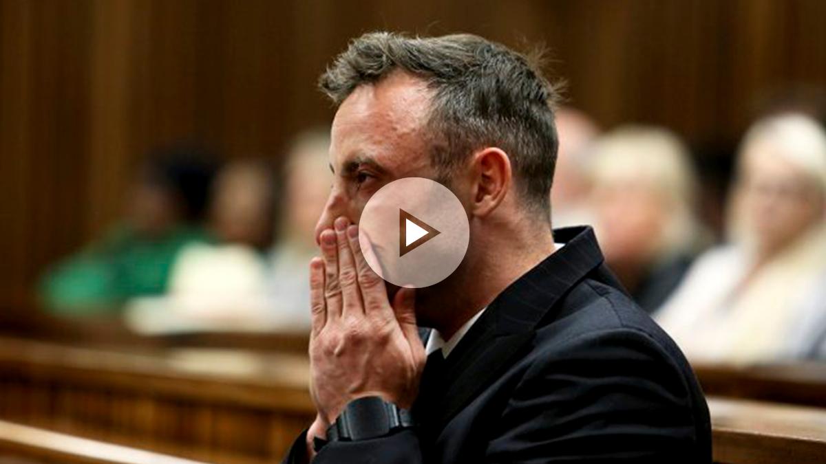 Oscar Pistorius, en el juicio. (Foto: AFP)