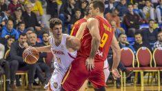 España se impuso a Montenegro. (FIBA)