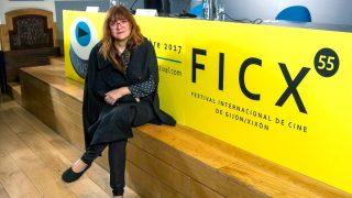 Isabel Coixet este sábado en el Festival de Cine de Gijón (Foto: Efe).