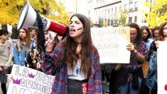 """Manifestación en Granada contra la """"violencia de género"""" (Foto: Efe)."""