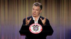 El presidente de Colombia, Juan Manuel Santos. (Foto: EFE)