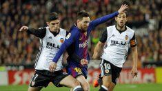 Valencia y Barça firmaron tablas. (EFE)