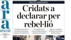 Periódico ARA.