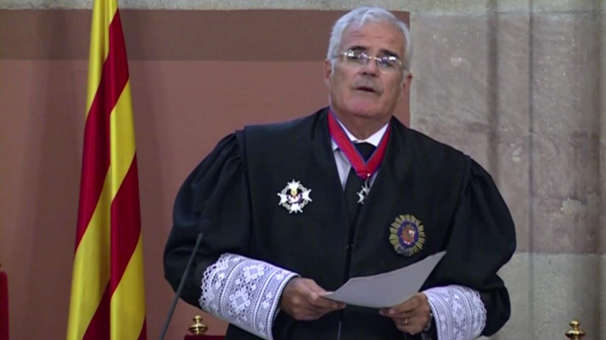 José María Romero de Tejada, fiscal jefe de Cataluña.