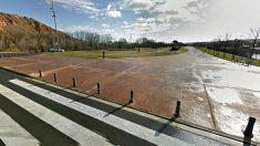 El parque de la Ribera de Logroño, donde se consumó la violación.