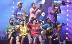 Bruno Mars encandila al Estadi Olimpic de Barcelona en un derroche de energía