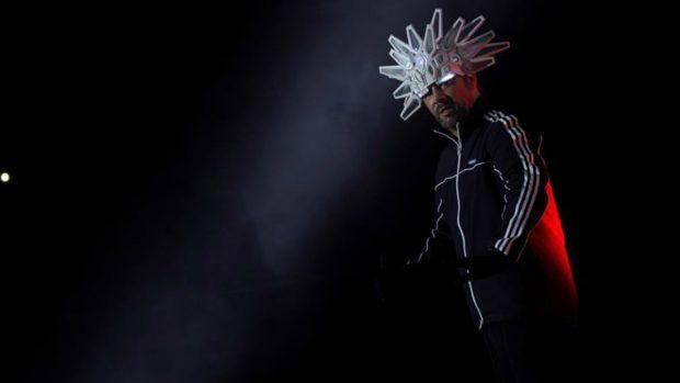 Jason 'Jay' Kay es el cantande de Janmiroquai que elevó el funk a su mayor exponente. Foto: EFE