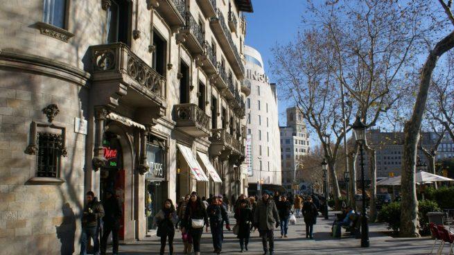 Cataluña comercio minorista