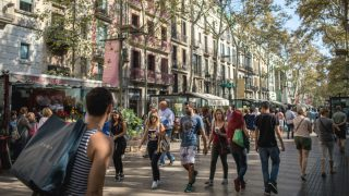 Las Ramblas, Barcelona (Foto: GETTY).