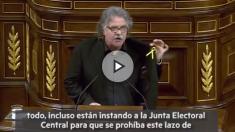 Joan Tardá en el Pleno del Congreso