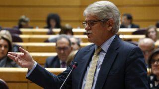 El ministro de Asuntos Exteriores, Alfonso Dastis, en el Senado. EFE