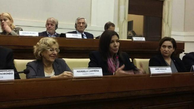 Carmena evita firmar junto a París o Barcelona la declaración de calles libres de combustibles fósiles