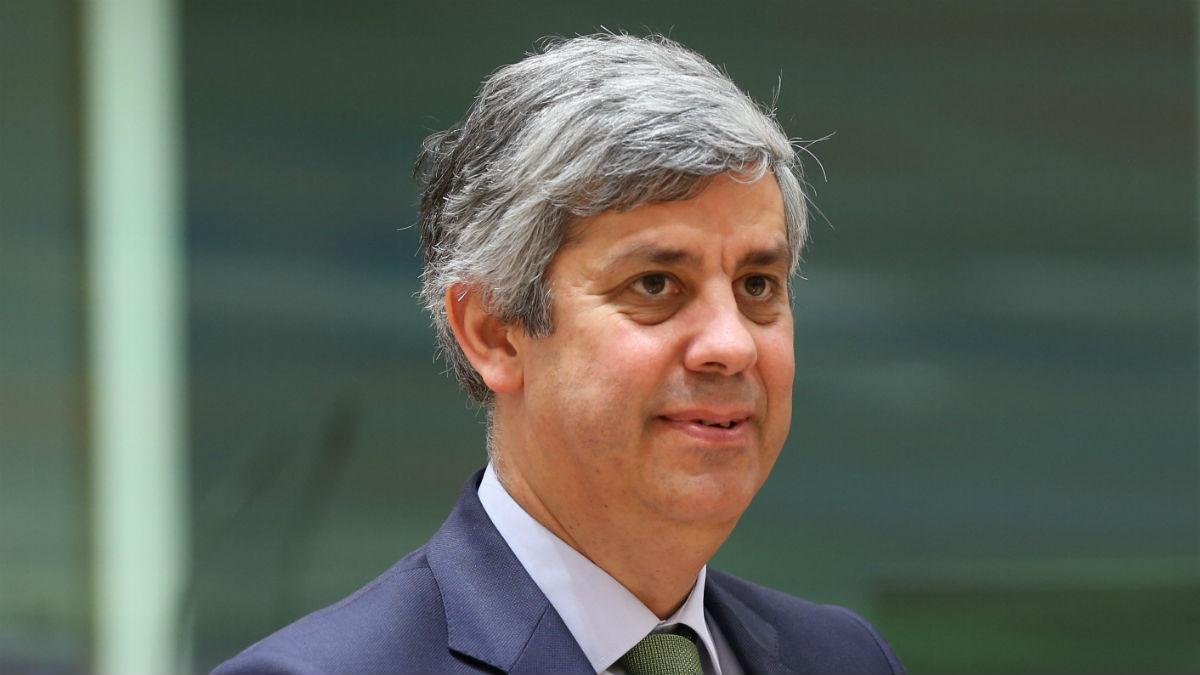 El presidente del Eurogrupo Mário Centeno (Foto:Getty.