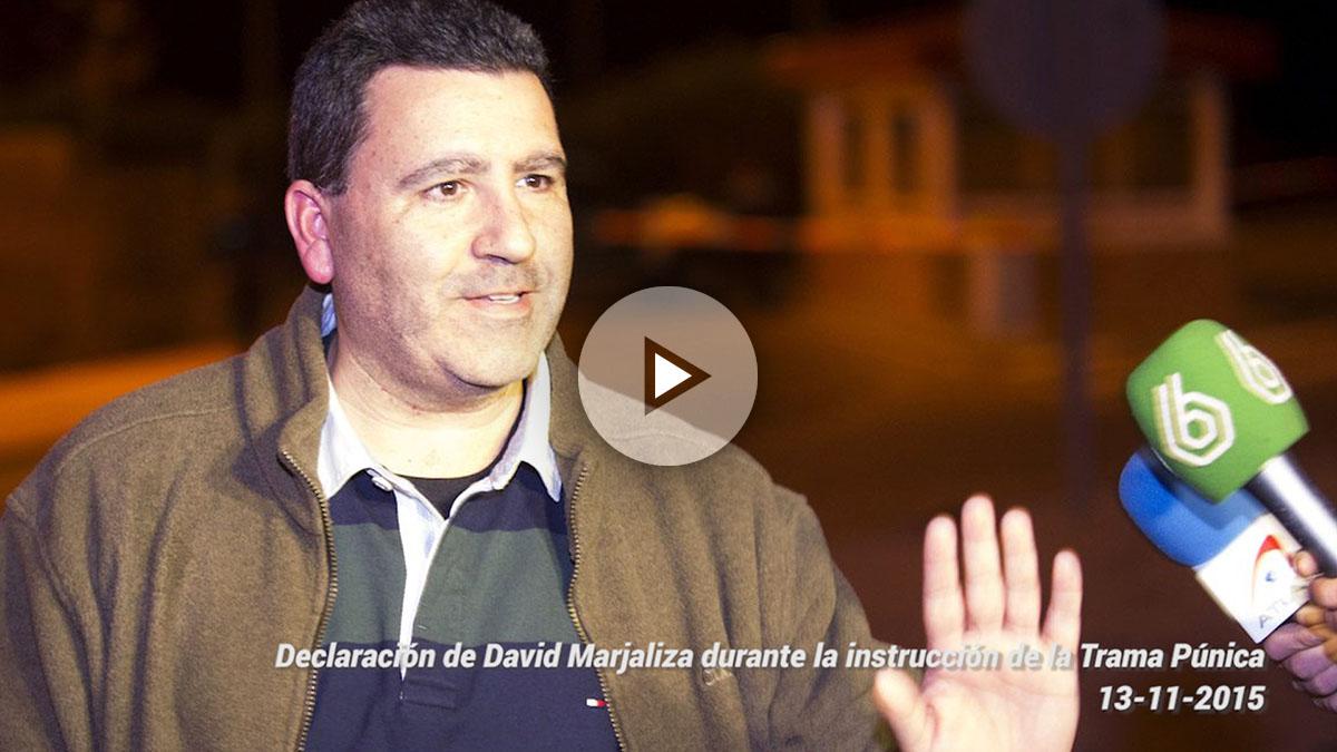 Declaración de David Marjaliza durante la instrucción de la trama Púnica (13-11-2017).