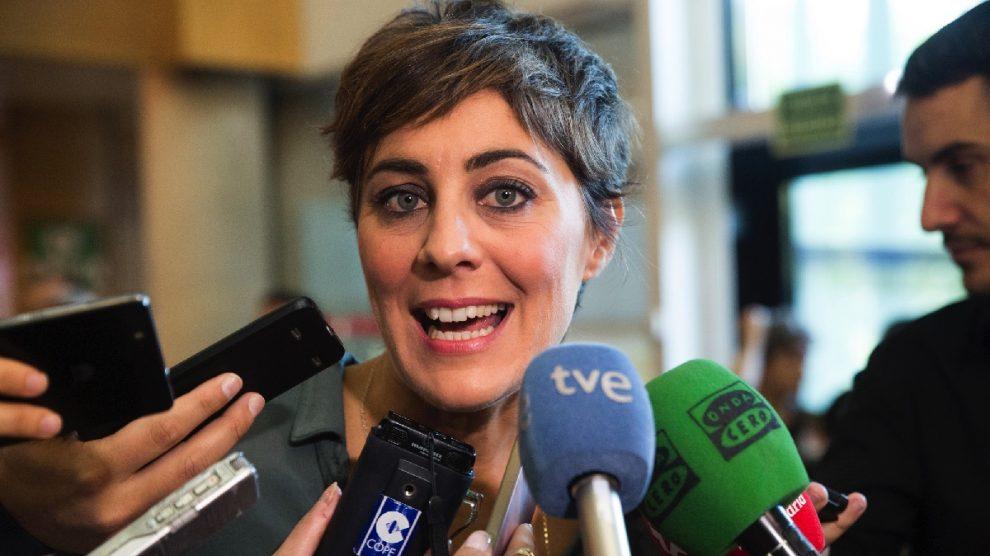 Lorena Ruiz-Huerta en la Asamblea de Madrid. (Foto: TW)