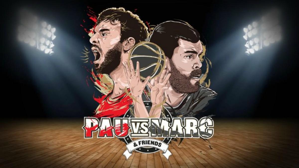 Marc vs Pau Gasol.