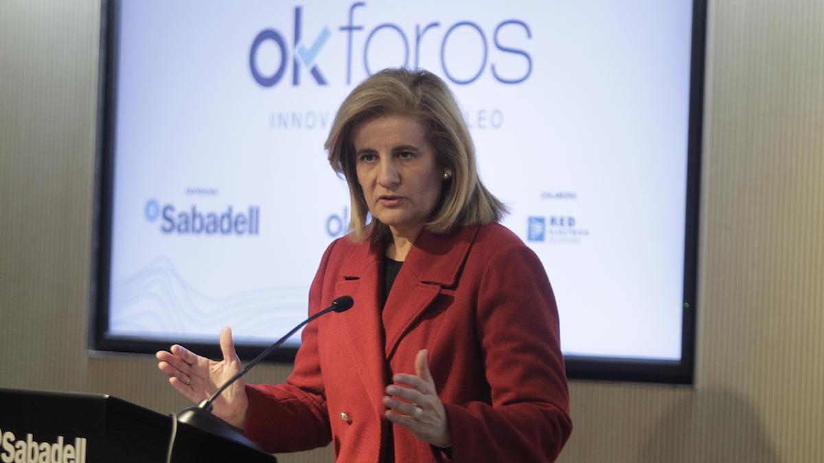 La ministra de Empleo y Seguridad Social, Fátima Báñez. (Foto: Francisco Toledo)