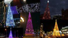 Árboles de Navidad patrocinados en otros años.