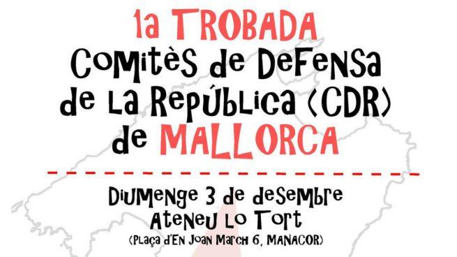 Primer encuentro de los CDR de Baleares en Mallorca