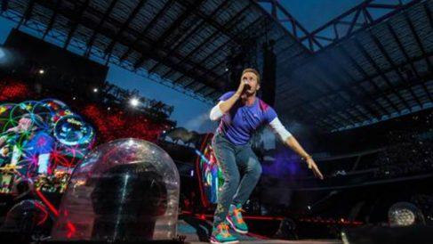 Chris Martin, el cantante de Coldplay, vuelve a ganar por segundo año consecutivo el primer puesto en la encuesta 'Ticket of the Year' de Ticketmaster.