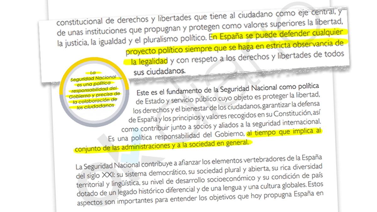 Estrategia de Seguridad Nacional 2017  y la referencia al desafío secesionista en Cataluña